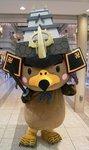 青森県弘前城築城400年祭のマスコットキャラクターたか丸くん